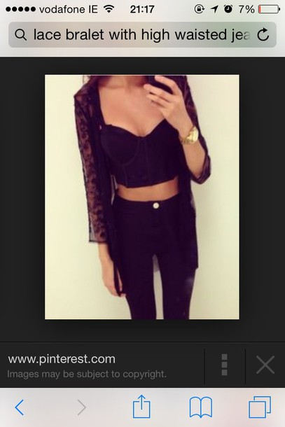 cardigan black lace cardigan