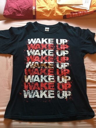 t-shirt suicide silence wake up metalcore metal band band merch band t-shirt ss metal music suicide silence wake up music impericon heavy metal deathcore death metal mitch lucker rock no time to bleed century media records