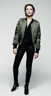 jacket,willa holland,fall outfits,pants,boots