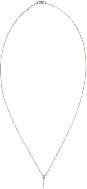Pearls Before Swine Rose Gold Mini Thorn Pendant