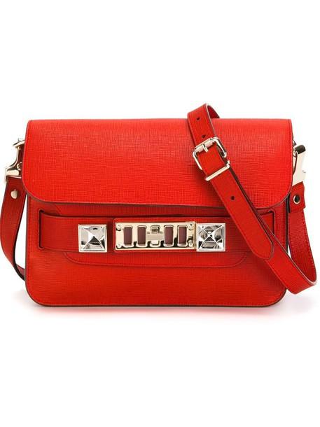 Proenza Schouler satchel mini women red bag