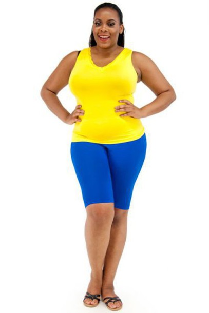 shorts: biker shorts, knit shorts, spandex, leggings, royal blue