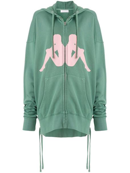 Faith Connexion sweatshirt women cotton green sweater