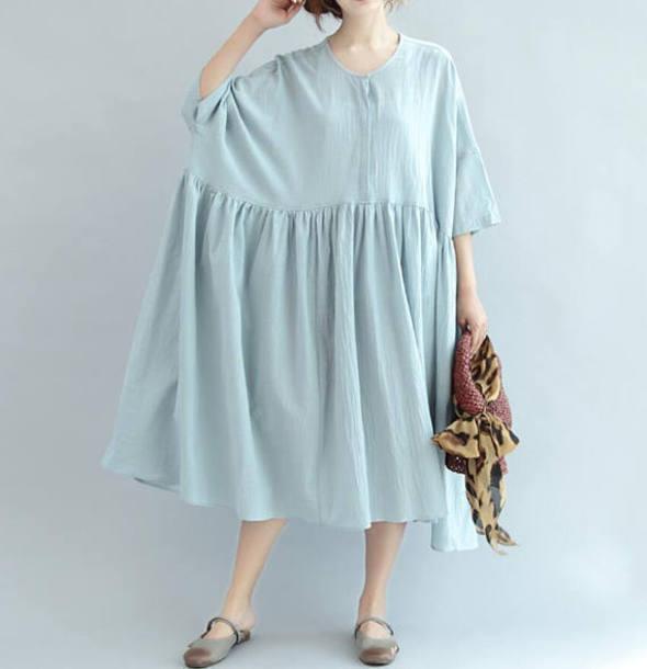 dress long oversize sundress