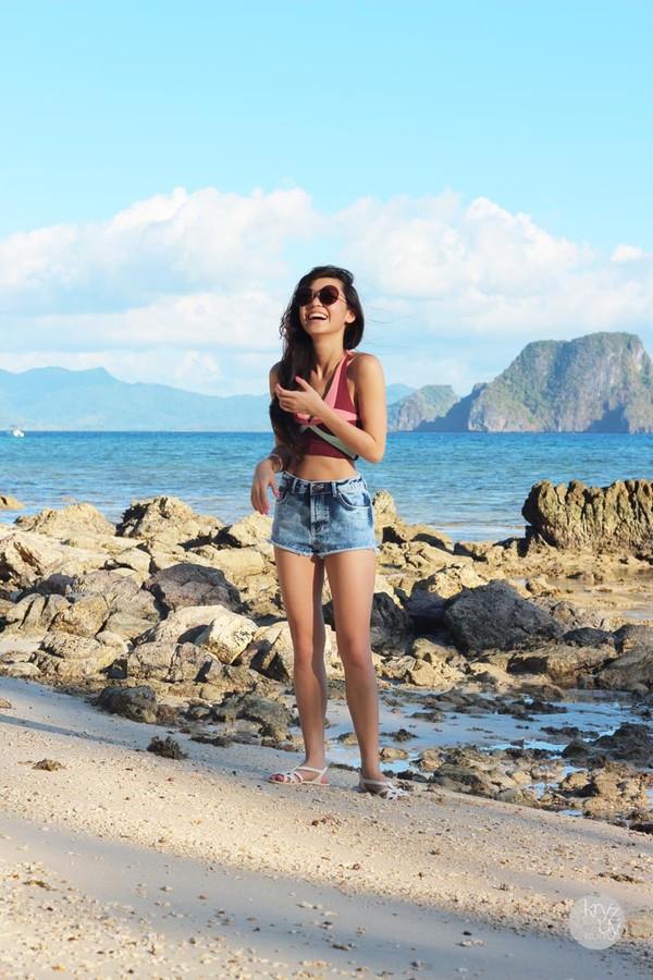 kryzuy t-shirt sunglasses shorts shoes