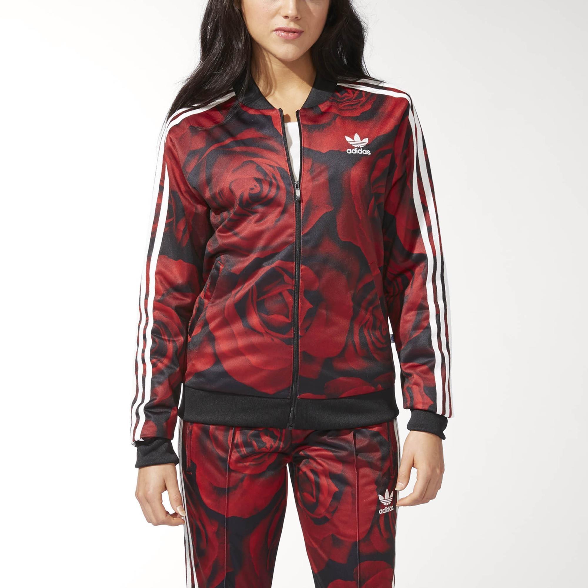 multi coloured adidas jacket