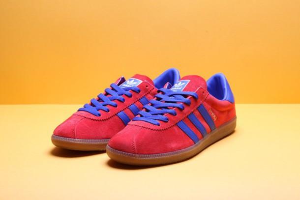 shoes adidas rouge adidas