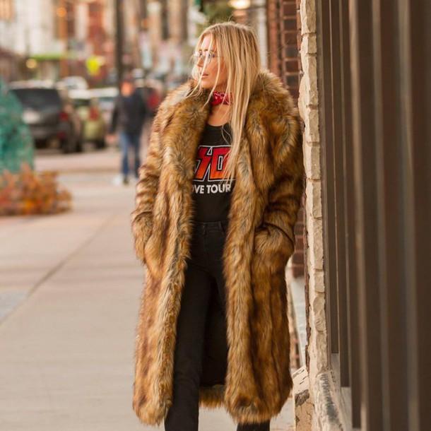 Coat Tumblr Winter Outfits Winter Coat Winter Look Fur Coat