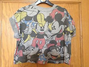 565ecc457ca6b Primark Retro MICKEY MINNIE MOUSE DISNEY T Shirt Crop Top ...