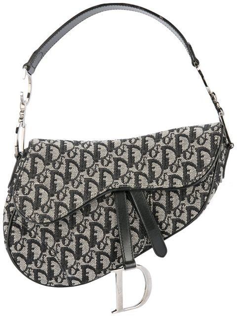 Christian Dior Vintage Trotter Saddle Bag - Farfetch