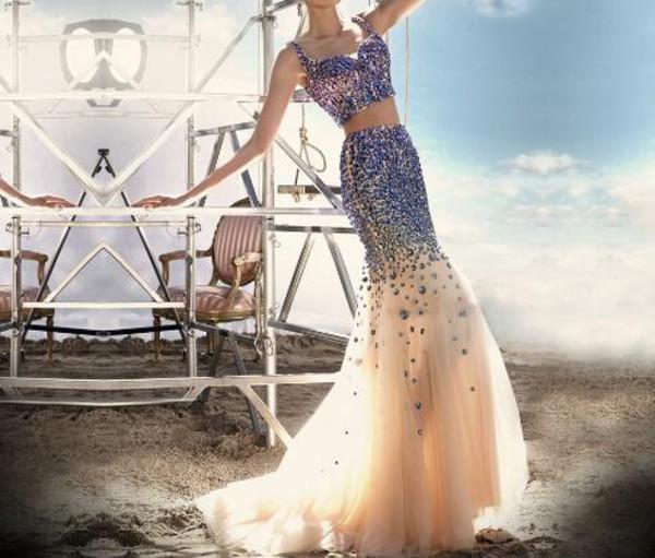 dress prom dress long prom dress two piece prom dresses two piece dress set sparkly dress girls dress