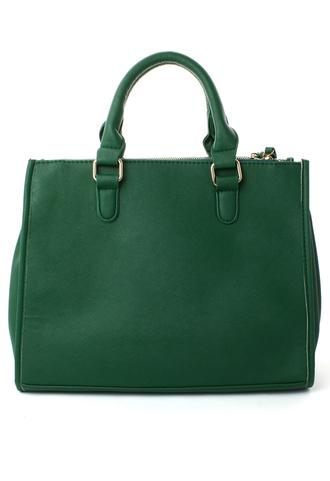 bag green handbag chic blogger