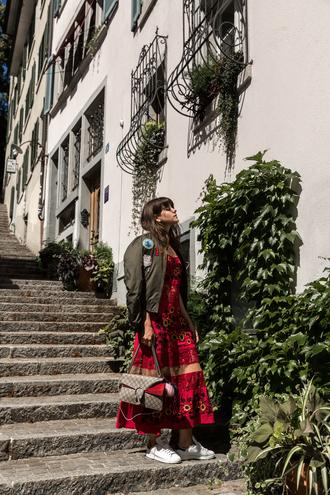 the fashion fraction blogger jacket dress bag shoes