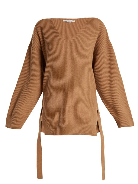 sweater knit camel