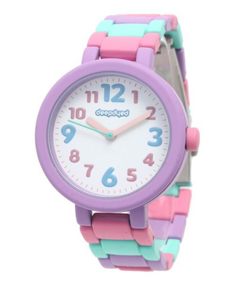 pink jewels adorable japanese purple watch japan candy pastel kawaii cute lilac pastel pink pastel purple mint pastel blue wristwatch wrist watch