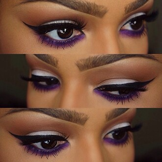 make-up eyeliner eyelashes eyebrows on fleek eyebrows eye shadow cute beautiful eye makeup party make up leggings