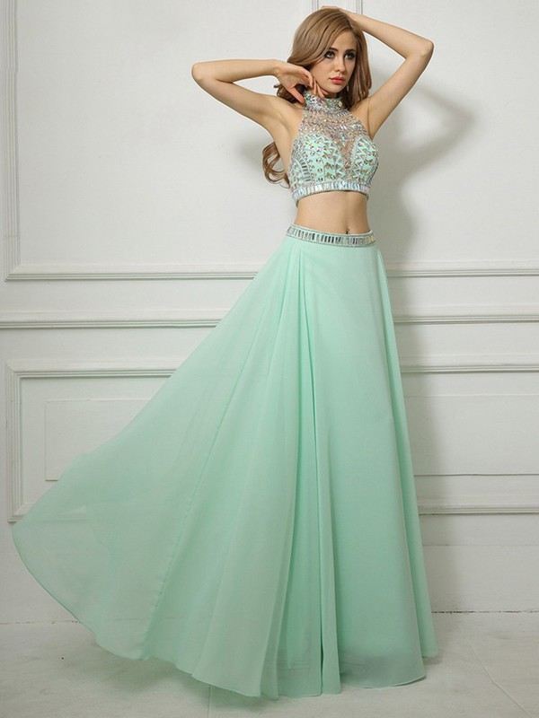 Dress Mint Maxi Dress Two Piece Mint Mint Green Maxi
