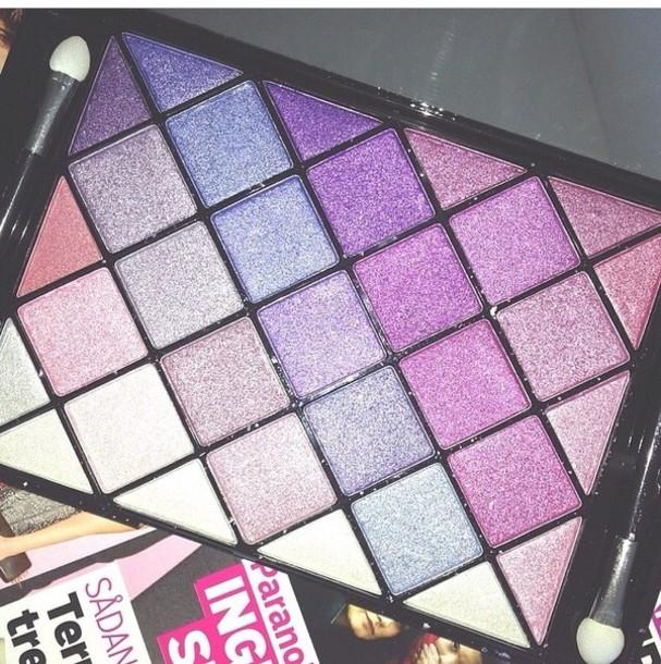 nail polish eye shadow makeup palette