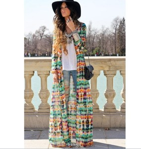 Vintage tie dye dress in elegant dresses for women