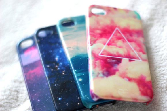 nebula aztec jewels iphone cover iphone case iphone triangle cloud iphone4 iphone 4s case galaxy case