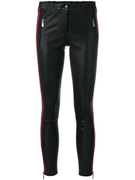 Arma women leather black pants