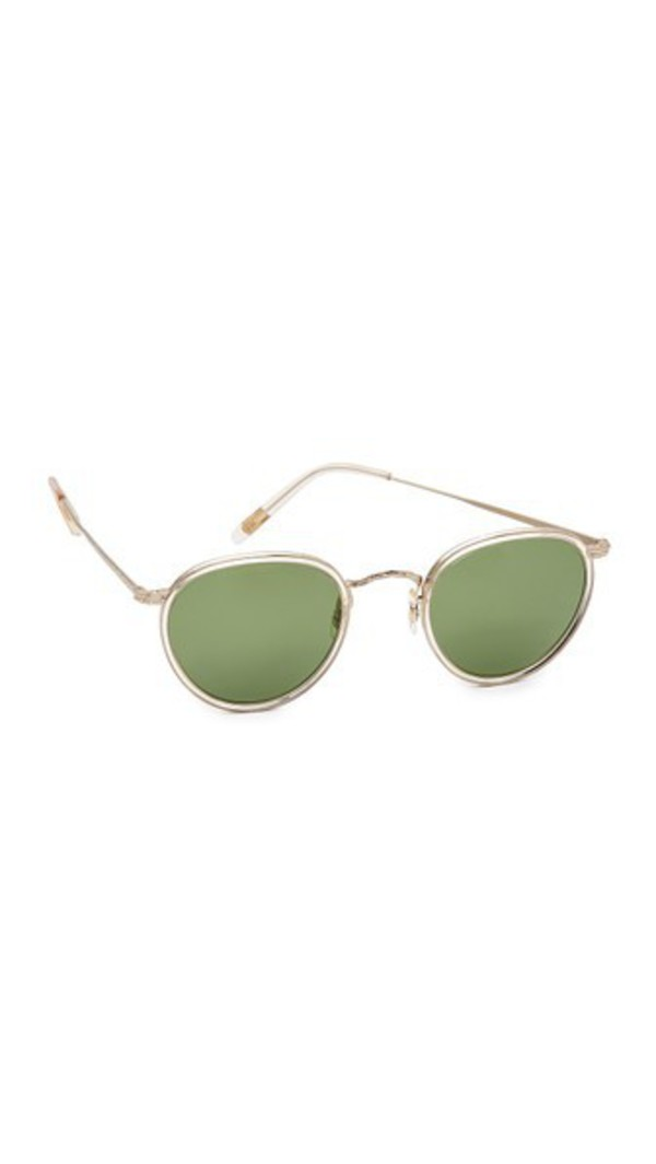 6df7cccea32 Oliver Peoples Eyewear 30th Anniversary Zaine Sunglasses in gold ...