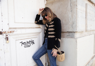 my daily style blogger jacket jeans shoes