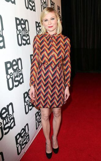 romper blouse top skirt pattern kirsten dunst pumps