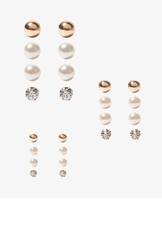 Stud Earring Set | FOREVER21 - 1000017224