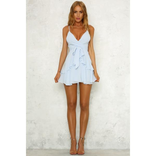 Ice Cold Dress Blue