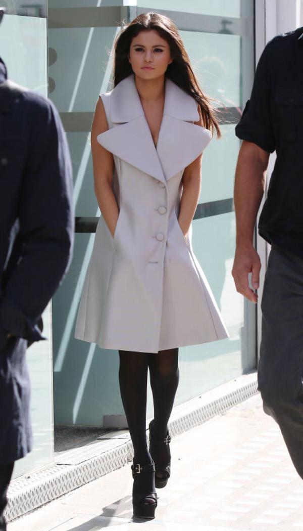 MSGM sleeveless coat