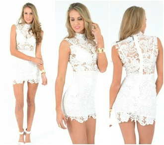 dress whitelacedress