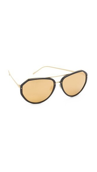 sunglasses aviator sunglasses gold black
