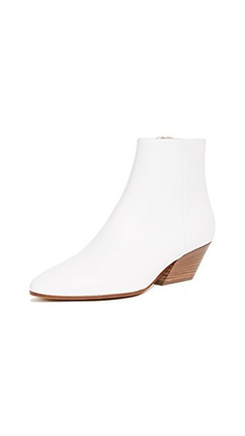 Vince booties white shoes