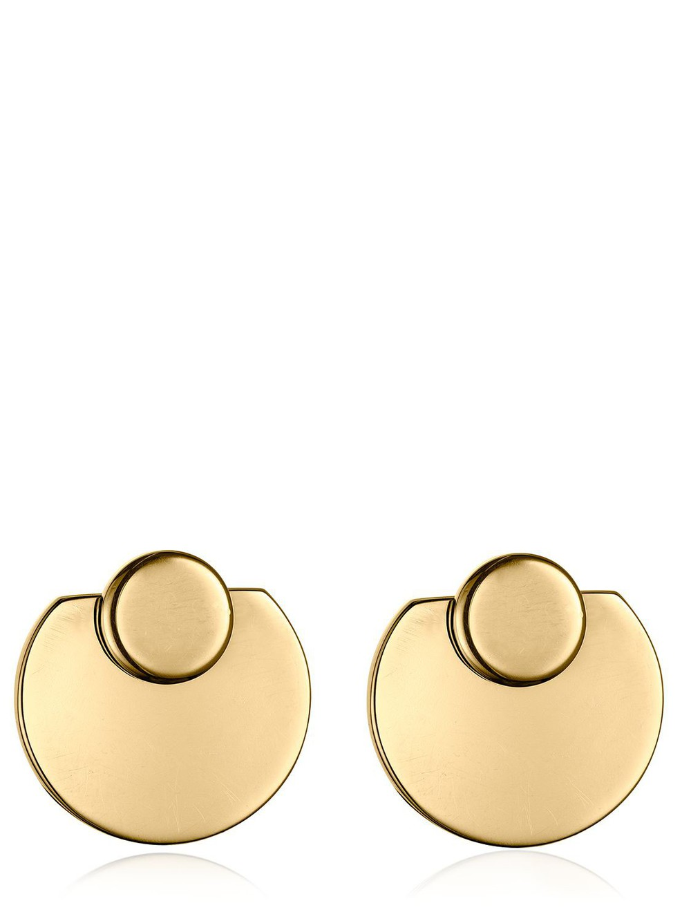 VITA FEDE Moneta Full Earrings in gold