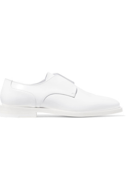 Jil Sander leather white shoes