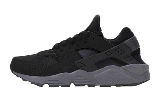 promo code 46afd 1538c Nike Air Huarache Black Dark Grey   The Sole Supplier