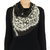 Moschino Cheap & Chic Star and Lace Print Scarf / TheFashionMRKT