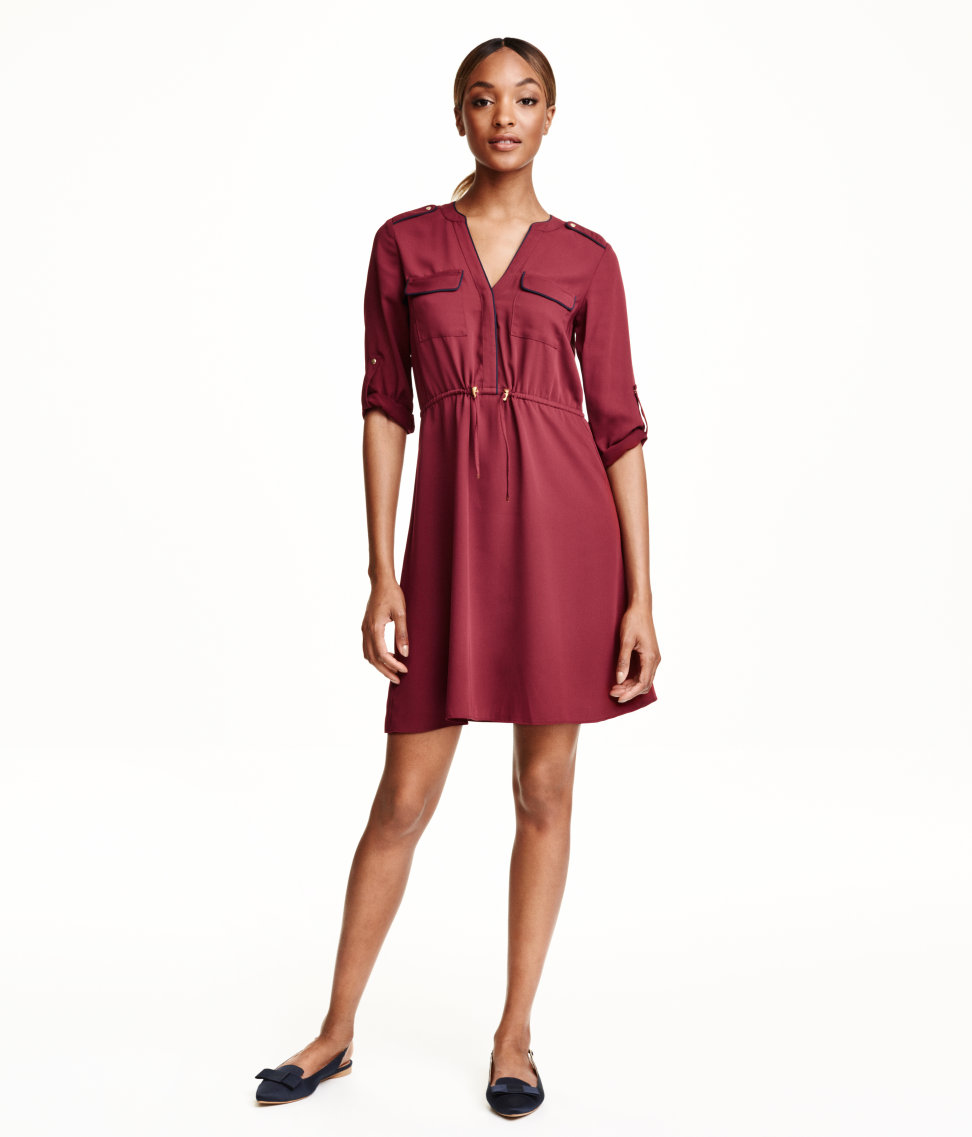 H&M Satin Dress $34.99