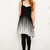 Free People Foil Ombre Lace Dress in Black in Black | Lyst