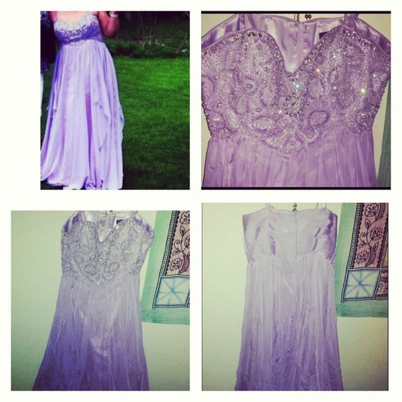 dress prom prom dress long prom dress formal formal dress long dress pastel lilac purple purple dress strapless pastel dress pastel prom pastel prom dress