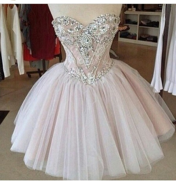dress white dress short prom dress cute vintage prom