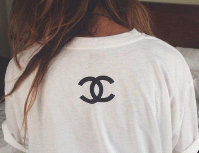 Chanel inspired tshirt / sweetteesnow