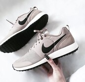 shoes,nike shoes,nike,nike sneakers,nike shoes for women,nude,nude sneakers,nike nude air max,beige,beige shoes,chic,stylish,trendy,fashion vibe,running,low top sneakers,grey sneakers,sneakers,suede,black,gorgeous