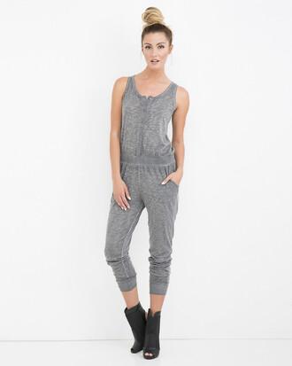 jumpsuit mineral wash mineral wash jumpsuit gray gray jumpsuit