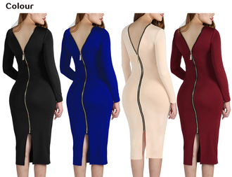 dress back zip up solid bodycon slim cocktail midi dress sexy womens cocktail bodycon dress slim fit wrap dress long sleeve dress bodycon stretchy dress womens sexy bodycon dress stretchy dress solid bodycon dress midi dress long sleeves zipper dress bodycon bodycon dress party dress sexy party dresses sexy sexy dress party outfits sexy outfit spring dress spring outfits fall dress fall outfits winter dress winter outfits classy dress elegant dress cocktail dress date outfit birthday dress cute dress girly dress clubwear club dress graduation dress homecoming homecoming dress wedding clothes wedding guest engagement party dress new year dresses