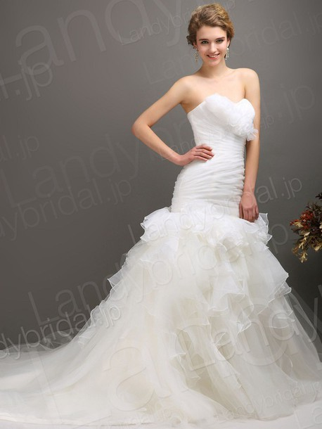 dress ウェディングドレス ソフトマーメイド ハートネック