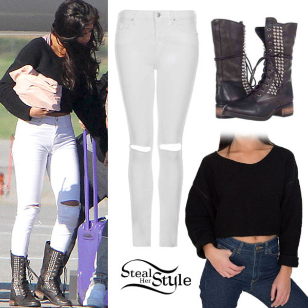 cardigan hair accessory sweater black shirt style stealer crop selena gomez