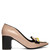 Daisies City polished-leather pumps