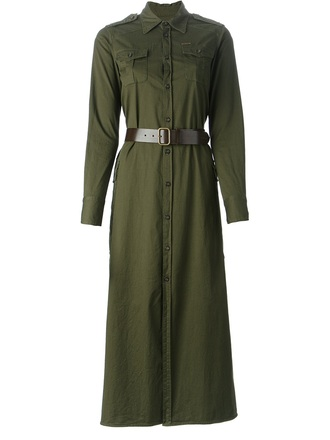 dress dsquared2 military style military dress